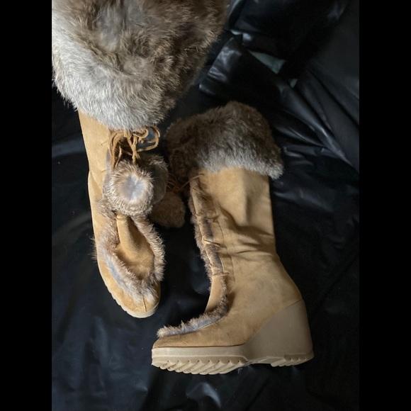 Vintage coach boots